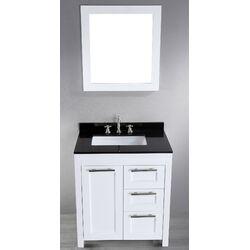 Contemporary 30'' Single Sink Vanity Set