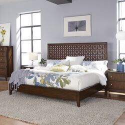 Antolas Panel Platform Bed