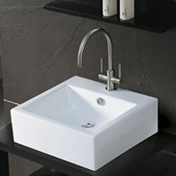 Commodore China Vessel Bathroom Sink