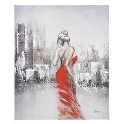 Night on the Town II Canvas Wall Art