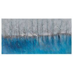 Forest of Blue Canvas Wall Art