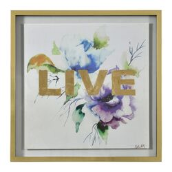 Lush Live by Michelle Glay Framed Painting Print