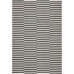 Cameron Stripe Coal / Ivory Area Rug