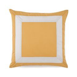 Plimpton Flame Mitered Frame Decorative Pillow