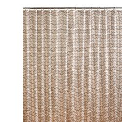 Jill's Key Cotton Printed Shower Curtain