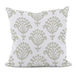 Floral Motifs Decorative Pillow