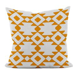 Geometric Cotton Decorative Throw Pillow I