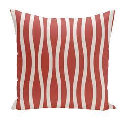 Holiday Brights Striped Pillow