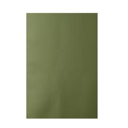 Decorative Solid Green Area Rug