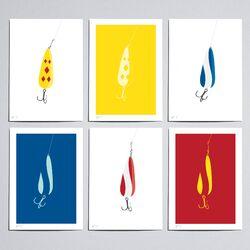 Workbench Gambles Lake 1/2 Lure Graphic Art Set