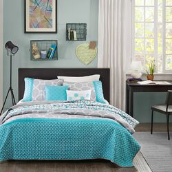 Clara 5 Piece Full / Queen Coverlet Set