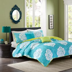 Tanya 5 Piece Coverlet Set