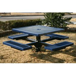 Kids Square Pedestal Picnic Table