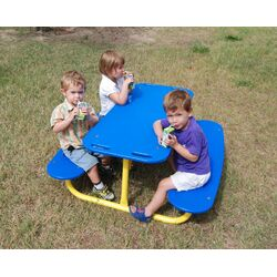 Kids Rectangle Tot Picnic Table