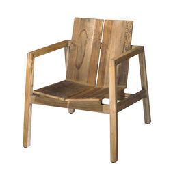 Naturals Old Wood Arm Chair
