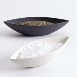 2 Piece Ceramic Salt and Pepper Box Set