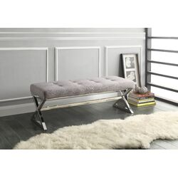 Rory Metal Entryway Bench