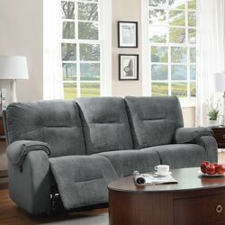 Dormont Double Seat Power Reclining Sofa Wayfair