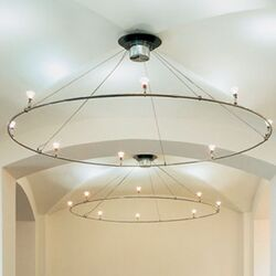 V/A Ring Ceiling Fixture