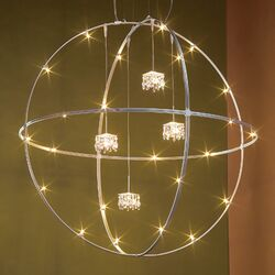 V/A Sphere Ceiling Fixture