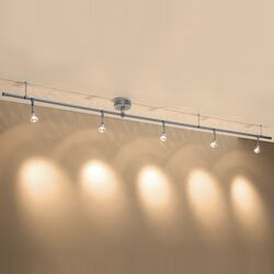 Enzis 5 Light Track Lighting Kit