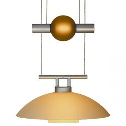 Jasmine 1 Light Move Down Large Pendant