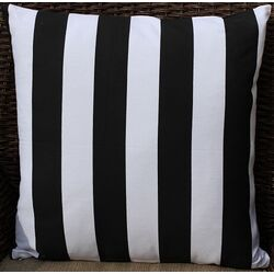 Stripes Cotton Throw Pillow