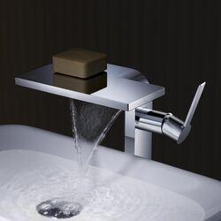 Cascade Single Handle Vessel Faucet