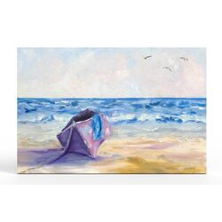 Renior's Boat Canvas Art Print