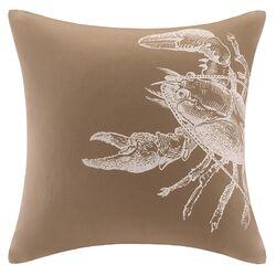 Sea Escape Square Cotton Pillow