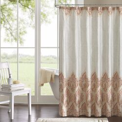 Kalia Cotton Shower Curtain by Harbor House