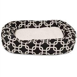 Links Sherpa Bagel Pet Bed