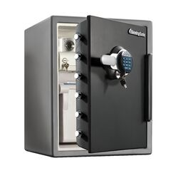 Water Resistant Digital Electronic Lock Fire Safe 2.05 CuFt