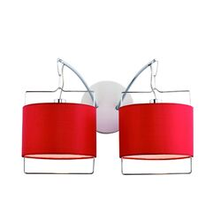 Passion Wall Sconce in Chrome/Satin Nickel