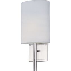 Edinburgh II Wall Sconce in Satin Nickel