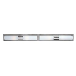 Cilandro Vanity Light in Satin Nickel