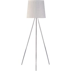 Percussion Floor Lamp in Polished Chrome