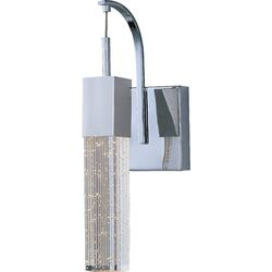 Fizz One Light Wall Sconce in Polished Chrome