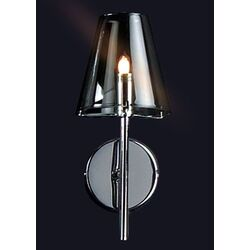 Chic Wall Sconce in Chrome