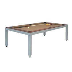 Fusiontables Powder Coated Steel Pool Table