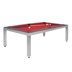 Fusiontables Stainless Steel Pool Table