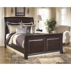Signature Design By Ashley Ridgley Sleigh Bed