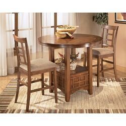 Cross Island Counter Height Dining Table