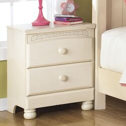 Cottage Retreat Two Drawer Night Stand