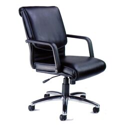 Alliance Mid-Back Leather Office Chair