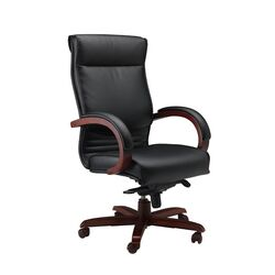 High-Back Leather Corsica Chair