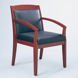 Corsica Two Wood Guest Chair (Set of 2)