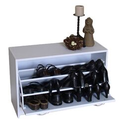 Storage and Organization Deluxe Single Shoe Cabinet