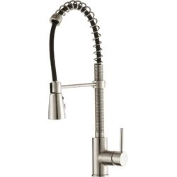 Kitchen Faucet with Single Handle & Pull Down Hose