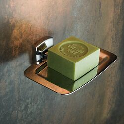 Fortis Wall-mounted Brass Soap Dish